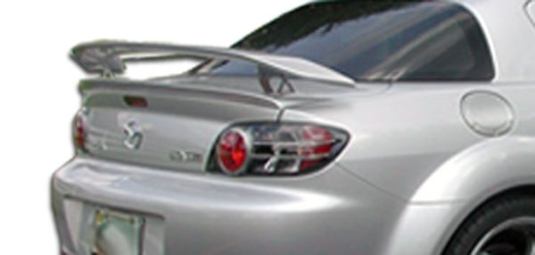 2004-2011 Mazda RX-8 Duraflex M-1 Speed Wing Trunk Lid Spoiler - 3 Piece