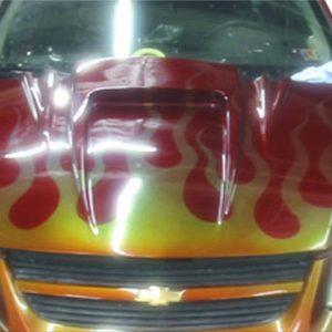 2005-2010 Chevrolet Cobalt 2007-2010 Pontiac G5 Duraflex Spyder 3 Hood - 1 Piece