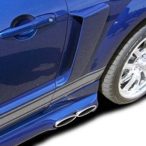 2005-2009 Ford Mustang Couture Urethane CVX Side Scoop - 2 Piece