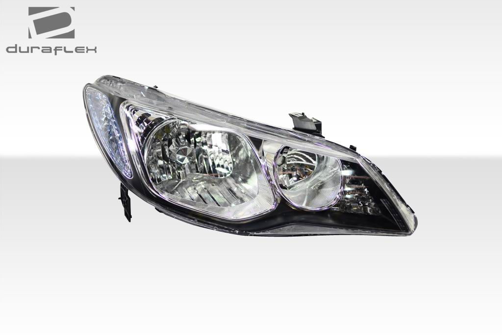 2006-2011 Honda Civic 4dr JDM Type R Conversion Headlights - 2 Piece