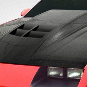 1982-1992 Chevrolet Camaro Carbon Creations ZL1 Look Hood - 1 Piece