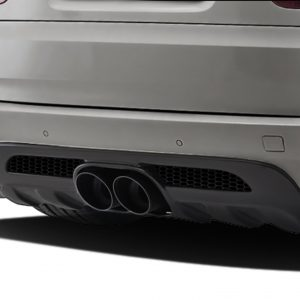 2010-2013 BMW X5M E70 AF-1 Wide Body Exhaust ( Metal ) - 1 Piece