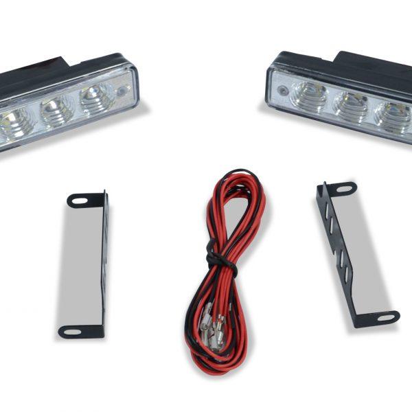 Universal LED Daytime Running Light 2 - 2 Piece