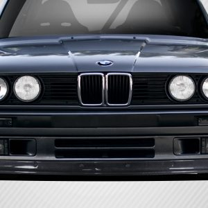 1984-1991 BMW 3 Series E30 Carbon Creations DriTech TKO Front Lip - 1 Piece