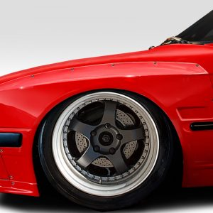 1984-1991 BMW 3 Series E30 Duraflex TKO Wide Body Front Fender Flares 50mm - 4 Piece