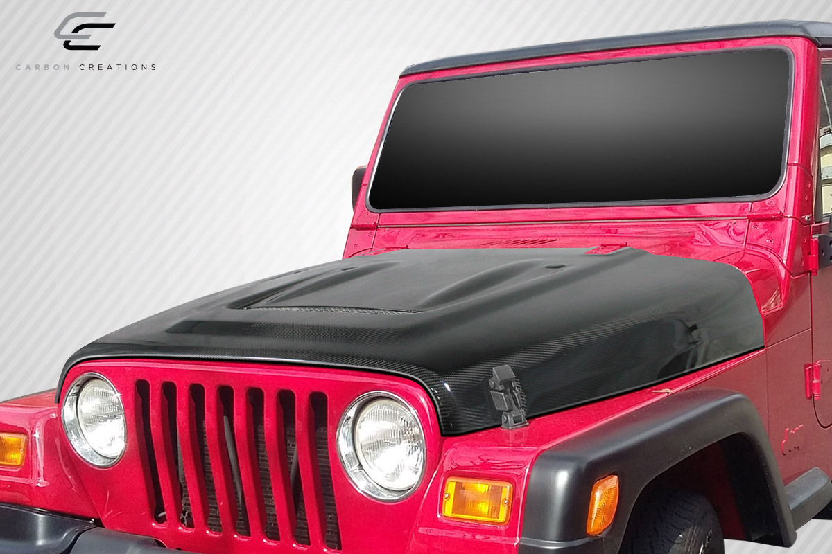 [SCHEMATICS_48IS]  1997-2006 Jeep Wrangler Carbon Creations Heat Reduction Hood (fits all  models without highline fenders) – 1 Piece | Automotive Services in  Oceanside, CA | SOS Customz | 2006 Jeep Wrangler Hood |  | SOS Customz