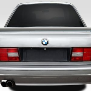 1984-1991 BMW 3 Series E30 Duraflex Evo Look Trunk Spoiler - 2 Piece