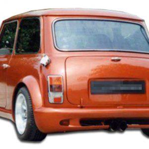 1959-2000 Mini Cooper Duraflex Type Z Wide Body Rear Bumper Cover - 1 Piece