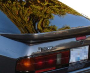 1986-1991 Mazda RX-7 Duraflex Wangan Wing Trunk Lid Spoiler - 1 Piece