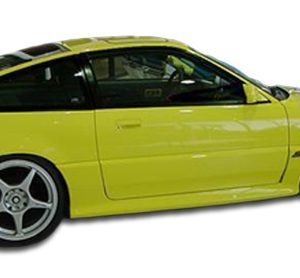1988-1991 Honda CR-X Civic HB Duraflex Type M Door Caps - 2 Piece
