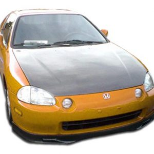 1993-1997 Honda Del Sol Carbon Creations OEM Hood - 1 Piece
