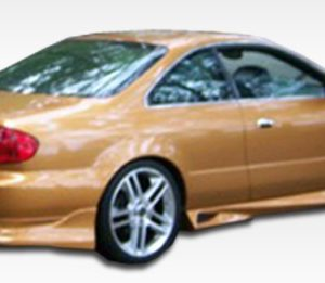2001-2003 Acura CL Duraflex Cyber Rear Bumper Cover - 1 Piece