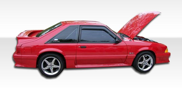 1979-1993 Ford Mustang Duraflex Cobra R Side Skirts Rocker Panels - 2 Piece