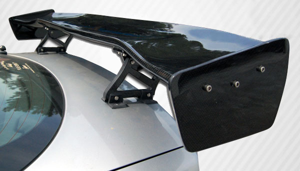 Universal Carbon Creations GT Concept 2 Wing Trunk Lid Spoiler - 3 Piece
