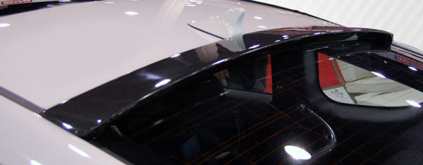 2010-2016 Hyundai Genesis Coupe 2DR Carbon Creations Circuit Roof Wing Spoiler - 1 Piece