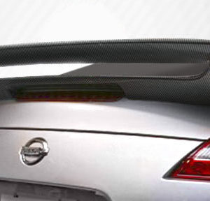 2009-2020 Nissan 370Z Z34 Coupe Carbon Creations N-2 Wing Trunk Lid Spoiler - 1 Piece