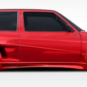 1985-1992 Volkswagen Golf 2DR Duraflex R-1 Door Caps - 2 Piece (S)