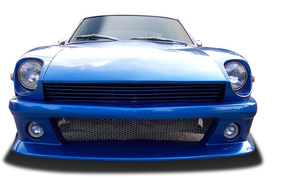 1970-1978 Nissan 240Z 260Z 280Z Duraflex MS-R Front Bumper Cover - 1 Piece
