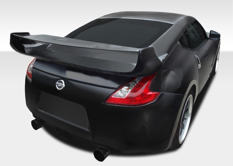 2009-2020 Nissan 370Z Z34 Coupe Duraflex Vader 3 Rear Wing Trunk Lid Spoiler - 1 Piece