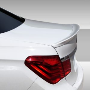 2009-2015 BMW 7 Series F01 F02 Eros Version 1 Rear Wing Trunk Lid Spoiler - 1 Piece