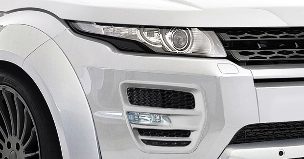 2012-2015 Land Rover Range Rover Evoque AF-1 Light Housings ( GFK ) - 2 Piece