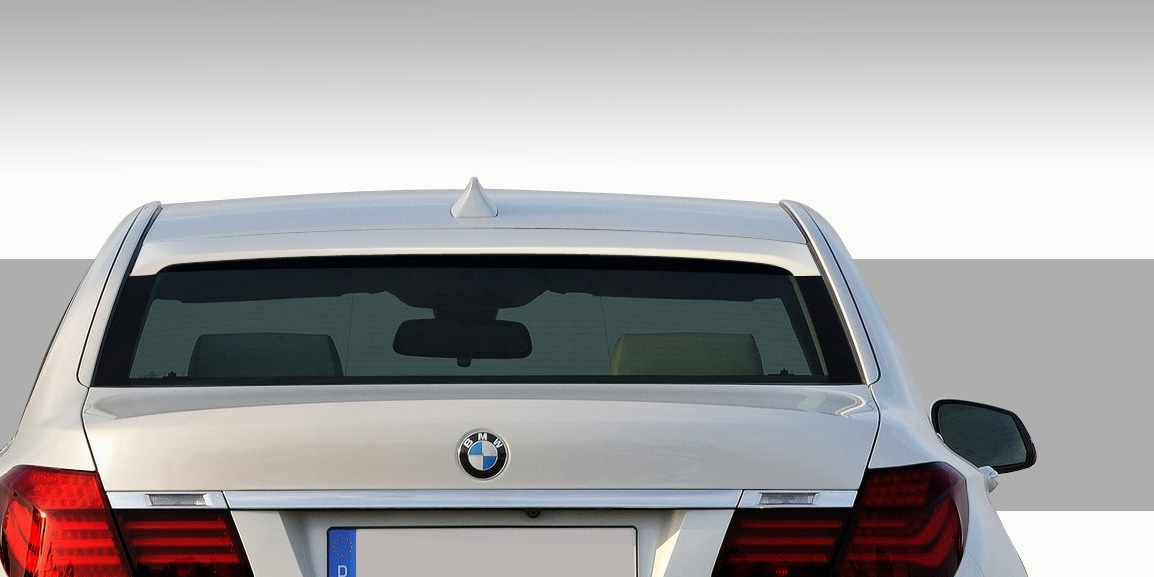 2009-2015 BMW 7 Series F01 F02 Eros Version 1 Roof Wing Spoiler - 1 Piece