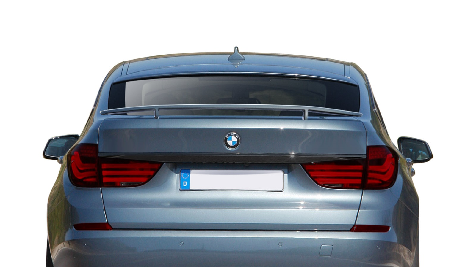 2010-2016 BMW 5 Series GT Gran Turismo F07 AF-1 Trunk Spoiler ( GFK ) - 1 Piece (S)