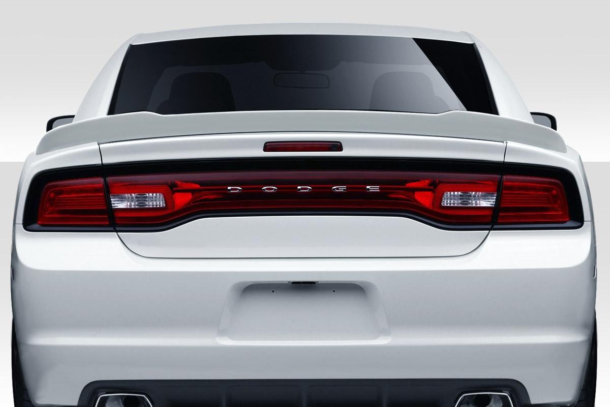 2011-2014 Dodge Charger Duraflex Hellcat Look Wing Spoiler - 1 Piece