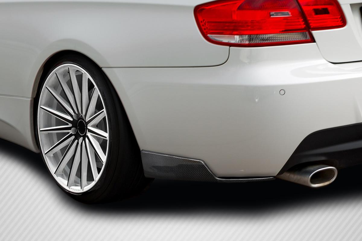 Universal Carbon Creations Front / Rear Type 1 Winglet Splitters - 2 Piece