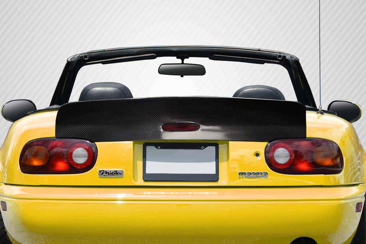 1990-1997 Mazda Miata Carbon Creations DriTech RBS Wing Spoiler - 1 Piece