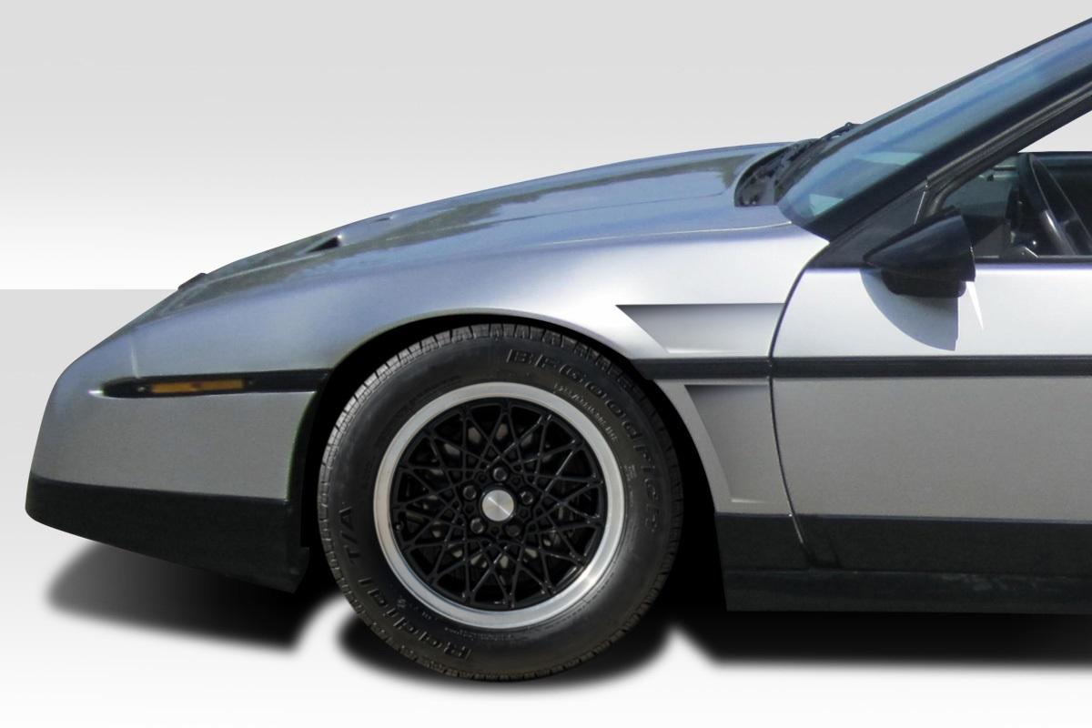 1984-1988 Pontiac Fiero Duraflex GTC Fenders - 2 Piece