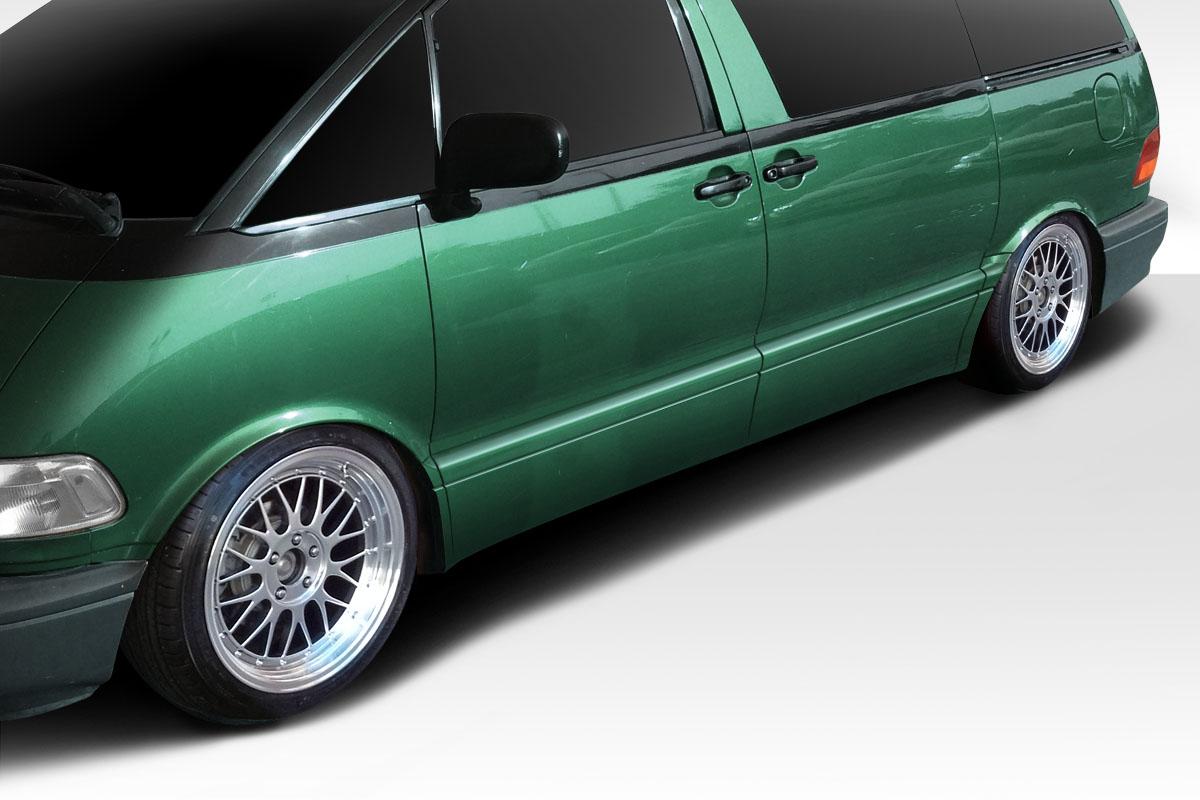 1991-1997 Toyota Previa Duraflex FAB Door Caps - 4 Piece