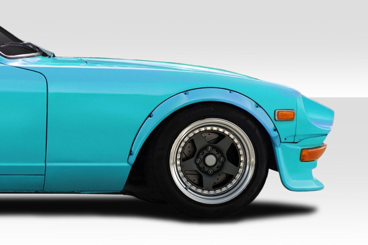 1970-1978 Nissan 240Z 260Z 280Z 2DR Duraflex Ziggy Fender Flares - 4 Piece