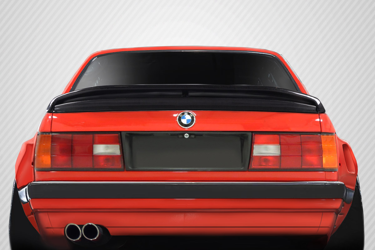 1984-1991 BMW 3 Series E30 Carbon Creations M-Tech Wing Trunk Lid Spoiler - 1 Piece