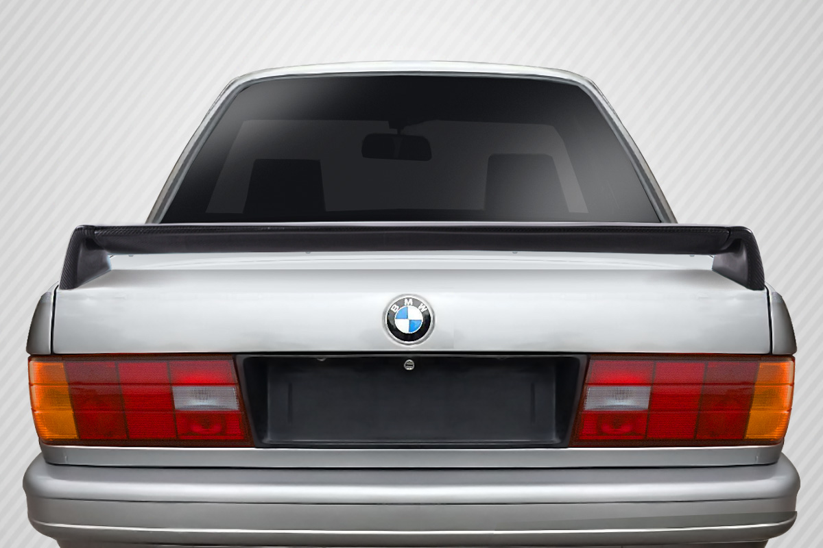 1984-1991 BMW 3 Series E30 Carbon Creations Evo Look Trunk Spoiler - 2 Piece