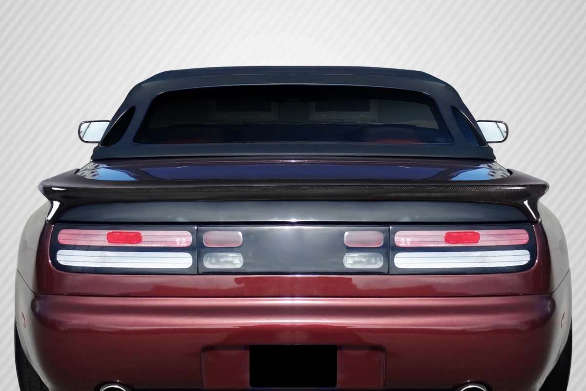 1990-1996 Nissan 300ZX Z32 Carbon Creations Twin Turbo Look Wing Spoiler - 1 Piece