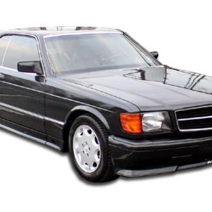 1981-1991 Mercedes S Class W126 2DR Duraflex AMG Look Body Kit (euro spec) - 6 Piece - Includes AMG Look Front Bumper Cover (107525) AMG Look Side Skirts Rocker Panels (102238) AMG Look Rear Bumper Cover (102239)