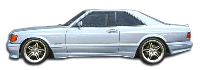 1981-1991 Mercedes S Class W126 2DR Duraflex AMG Look Wide Body Front Fenders - 2 Piece