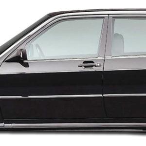 1986-1995 Mercedes E Class W124 4DR Duraflex Evo 2 Wide Body Door Caps - 4 Piece (S)