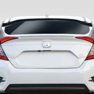 2016-2020 Honda Civic 4DR Duraflex Type R Look Rear Wing Spoiler - 3 Piece