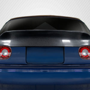 1990-1997 Mazda Miata Carbon Creations Ducktail Rear Trunk Lid - 1 Piece