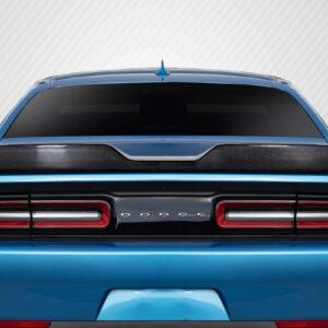 2008-2020 Dodge Challenger Carbon Creations Demon Look Rear Wing Spoiler - 1 Piece