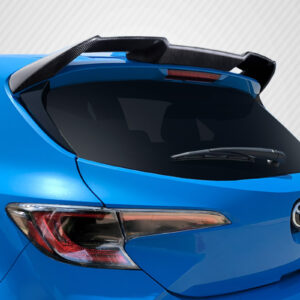 2019-2020 Toyota Corolla Hatchback Carbon Creations A Spec Roof Wing Spoiler - 1 Piece