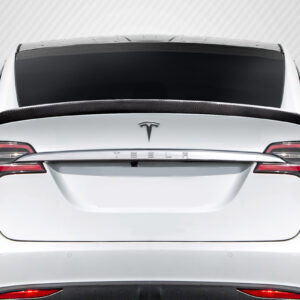 2016-2020 Tesla Model X Carbon Creations High Kick Rear Wing Spoiler - 1 Piece