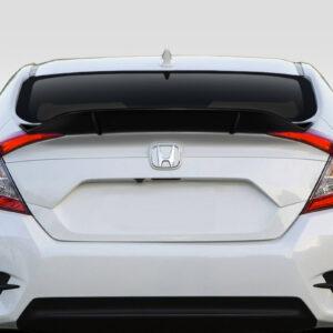 2016-2020 Honda Civic 4DR Duraflex Duckbill Rear Wing Spoiler - 3 Piece