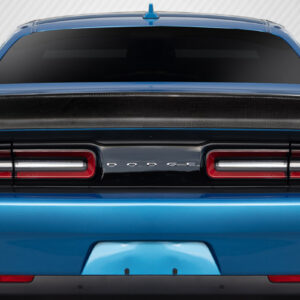 2008-2020 Dodge Challenger Carbon Creations Iconic Rear Wing Trunk Lid Spoiler - 1 Piece