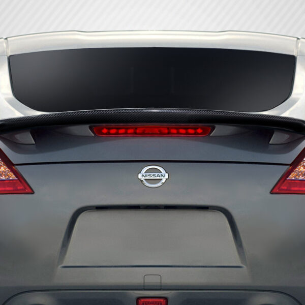2009-2020 Nissan 370Z Z34 2DR Coupe Carbon Creations M Spec Rear Wing Trunk Lid Spoiler Add On - 1 Piece