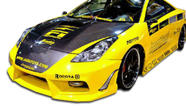 2000-2005 Toyota Celica Duraflex Bomber Front Bumper Cover - 1 Piece