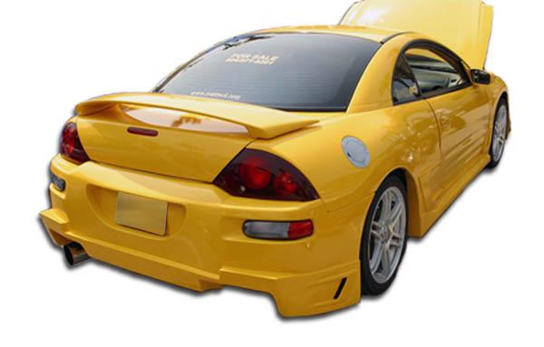 2000-2005 Mitsubishi Eclipse Duraflex Blits Rear Bumper Cover - 1 Piece