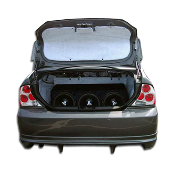 2000-2004 Ford Focus 4DR Duraflex Poison Rear Bumper Cover - 1 Piece (S)